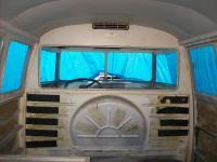 1956 ambulance interior