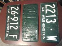 washington plates