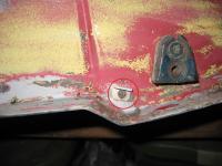 Ghia door bracket 1970