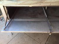 Heilite trailer kitchenette rails