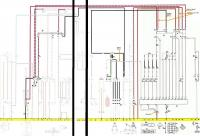 Baybus 77-78 Fuel Injection Wiring detail schematic
