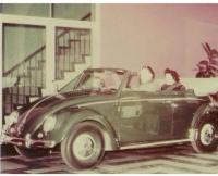 Early Dealer showroom Convertible , Congo green