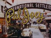 Oval bug in opening credits of the movie Pal Joey