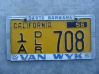 Van Wyk Dealer License Plate Frame