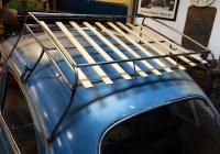 Rag top roof rack
