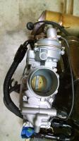 Carb converted to throttle body