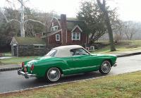 1974 vert Ghia