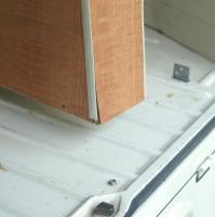 71 Westy closet rear brackets