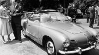 vintage Karmann Ghia photo