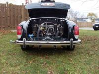 73 Ghia rear end repaired