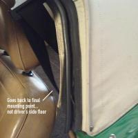 Vert seat belts