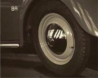 VW fim 1949 pastel green car with lightgreen rims