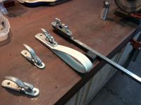 Polishing coat hooks