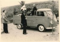 vintage barndoor pickup photo