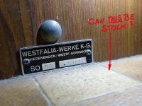 1978 Westy flooring?