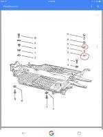 Rear rubber body mounts