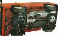 Van engine setup
