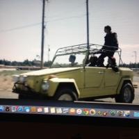 Z Nation with a very cool Thing with a cool ass rack.