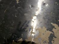 Original paint on fan shroud