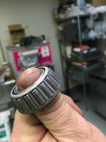 Bearing wear and tear?