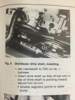 Dist Drive Gear Inatallation
