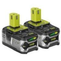 Ryobi 18v batteries