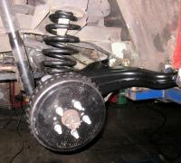 Trailing arms and GoWesty drums