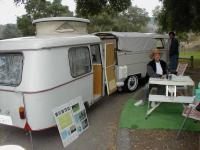Dbl Cab and Eriba Puck trailer