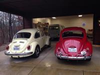 1966 bug and 1971 SB