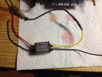Radio voltage dropper
