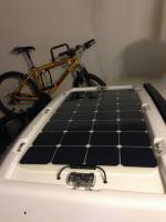 Solar luggage rack 100 watt