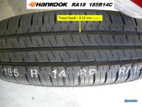 2016 Hankook RA18 Tire, Replacement for RA08