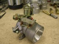 current throttle body build for Joe W
