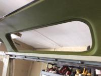 Klassic fab inner sunroof portal window stamping.