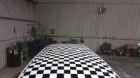 69 checkered roof