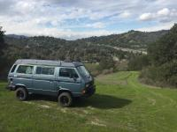 My Syncro, above Lafayette, CA