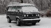 Vanagon in snow