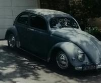 1957 oval with grandpa behind the wheel