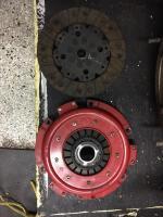 Henige clutch/pressure plate
