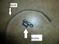 Heater Tube Wrap Clamps