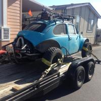 1967 baja bug and car trailer Stolen