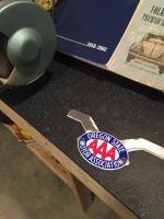 AAA badge bracket