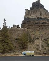 1968 tintop camper road trip Oregon