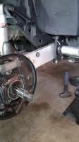 970 Baja bug ball joint 4 1/2 inch lift front and back