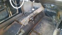 Tearing down '63 beetle interior