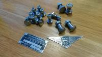 Hebmuller only convertible frame bolts