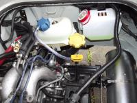EJ22 into Aircooled Vanagon Finished Engine Coolant Exhaust