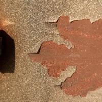 Fiberglass Hood Restoration - Before