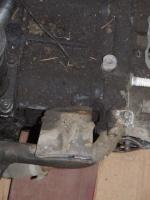 Bolt holes for GW alternator brace