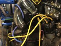 Rear wiring